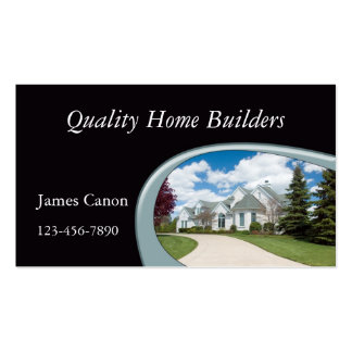 Home Builder Business Card Template