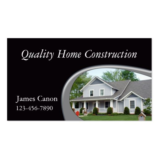 Home Builder Business Card Templates Zazzle