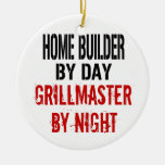 Home Builder Grillmaster Christmas Tree Ornaments