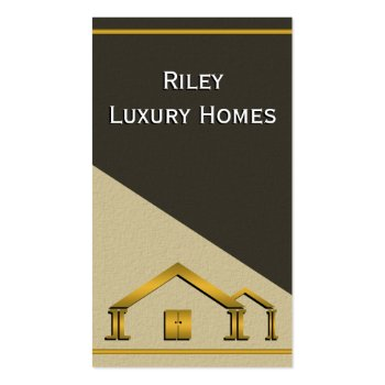 Home Building & Construction Business Card