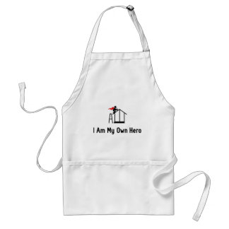 Home Building Hero Adult Apron
