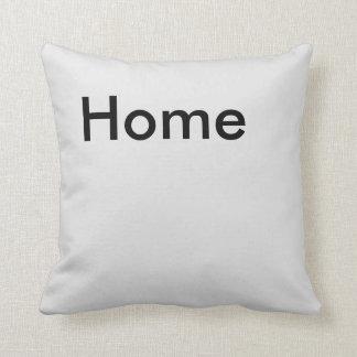 Home Button Throw Pillow