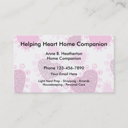 Home Care Companion Business Card
