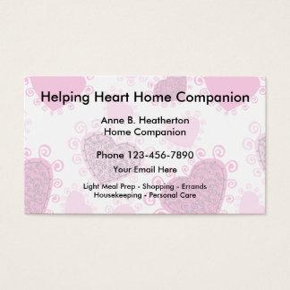 Home Care Companion Business Card