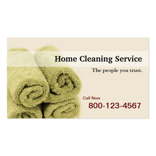 2 000 Cleaning Service Business Cards and Cleaning