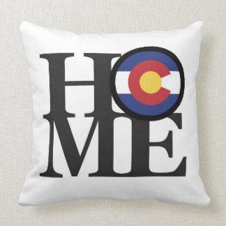 HOME Colorado Throw Pillow White