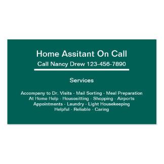 Home Companion Business Cards