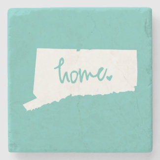 Home Connecticut Custom Color Stone Coaster