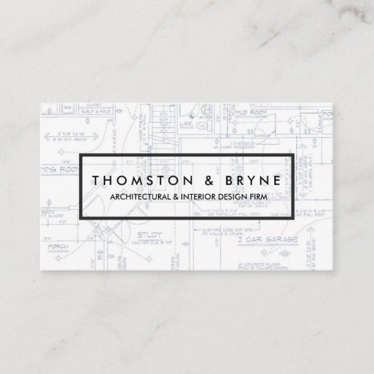 Home construction and architect blueprint business card zazzle home construction and architect blueprint business card malvernweather Choice Image
