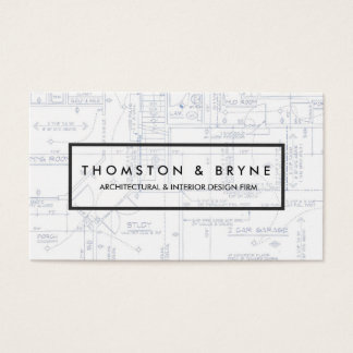 Architect gifts on zazzle home construction and architect blueprint business card malvernweather