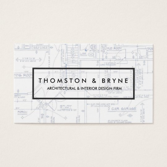 Home construction and architect blueprint business card zazzle home construction and architect blueprint business card malvernweather Image collections