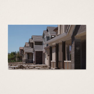 Home Construction Front Business Card