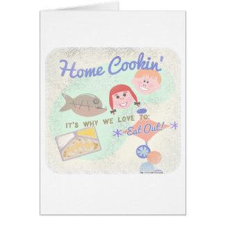 Home Cookin! Card