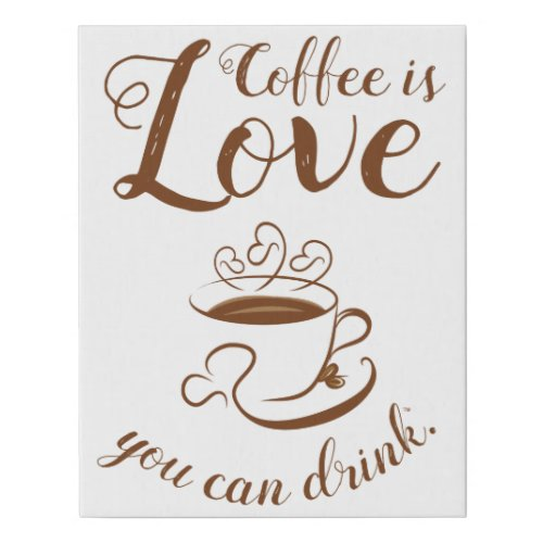 Home Cooking Coffee Canvas Art - chic coffee wall art decor