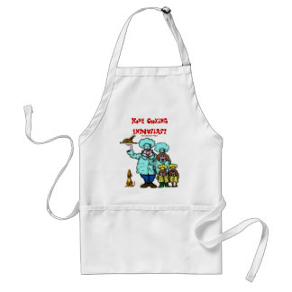 Home cooking enthusiast funny apron