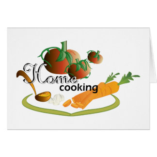 home cooking II Card