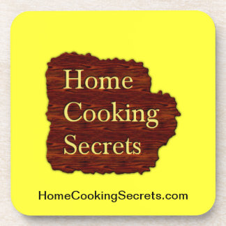 Home Cooking Secrets Coasters