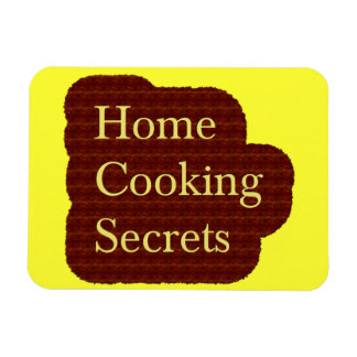 Home Cooking Secrets Logo Magnet