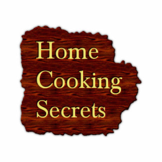 Home Cooking Secrets Magnet Cutout
