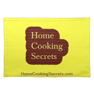 Home Cooking Secrets Placemats