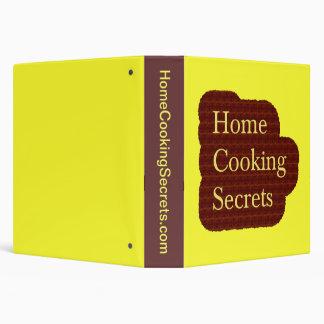 Home Cooking Secrets Recipe Binder