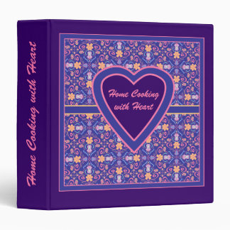 Home Cooking with Love Heart Recipe Binder