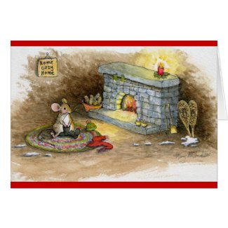 Home Cozy Home-Snowshoe Mouse