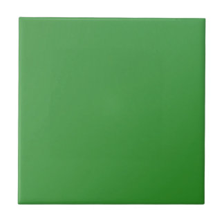 Home Decor Accents Green Small Square Tile