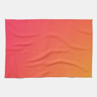 Home Decor Accents Sunrise Coral Towel