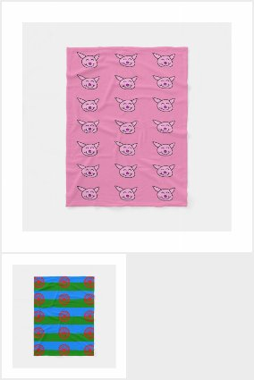 Home Decor by EelKat: Fleece Blankets