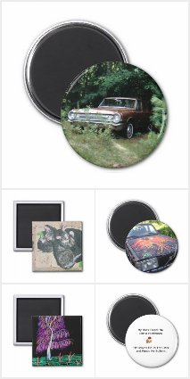 Home Decor by EelKat: Magnets