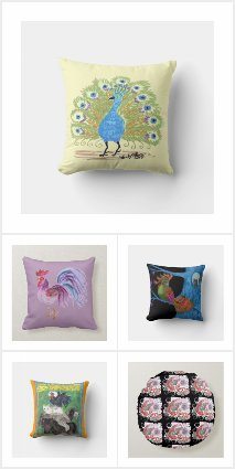 Home Decor by EelKat: Pillows