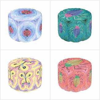 Home Decor by EelKat: Pouf Chairs