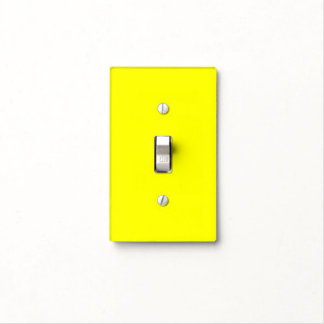 Home Decor Yellow Light Switch Cover by Janz