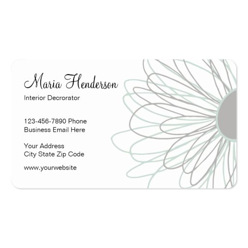 Home Decorating Business Cards Zazzle