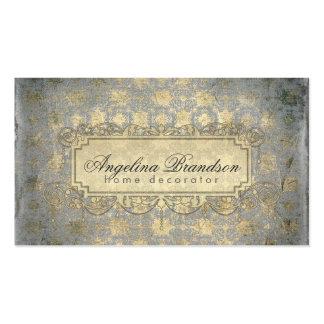Home Decorator/Interior Designer Vintage Card Double-Sided Standard Business Cards (Pack Of 100)