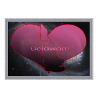 Home Delaware Poster