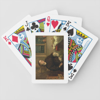 Home Dreams, 1869 (oil on canvas laid down on pane Bicycle Playing Cards