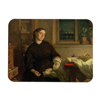 Home Dreams, 1869 (oil on canvas laid down on pane Magnet