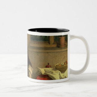 Home Dreams, 1869 (oil on canvas laid down on pane Two-Tone Coffee Mug