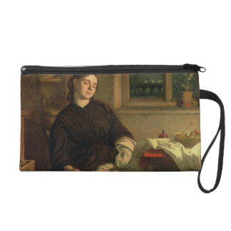 Home Dreams, 1869 (oil on canvas laid down on pane Wristlet
