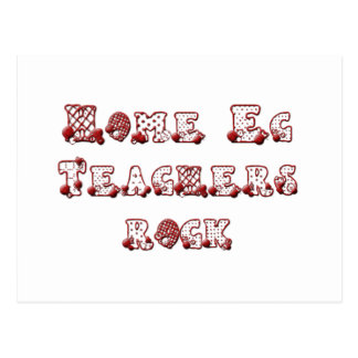 Home Ec Teachers Rock Postcard