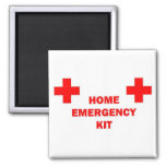Home Emergency Kit Refrigerator Magnets