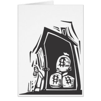 Home Equity Greeting Card