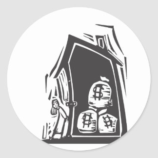 Home Equity Classic Round Sticker