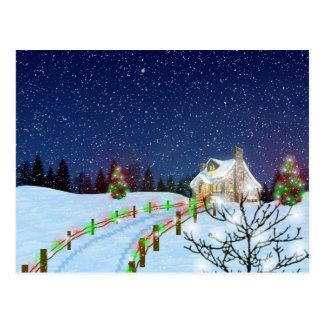 Home for Christmas Postcard