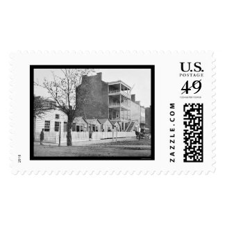 Home for Invalid Soldiers in Washington, DC 1865 Postage Stamp