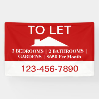 Home For Rental By House Owner Banner