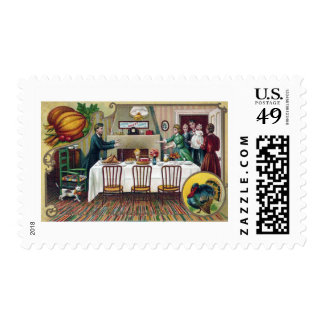 Home for Thanksgiving Postage