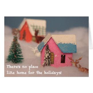 Home for the hoildays card